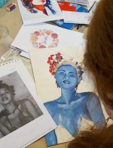 Acrylmalerei Workshops Sandra Zenker MAlwerk