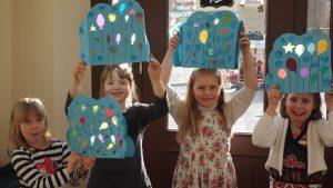 Kindergeburtstag workshop malwerk